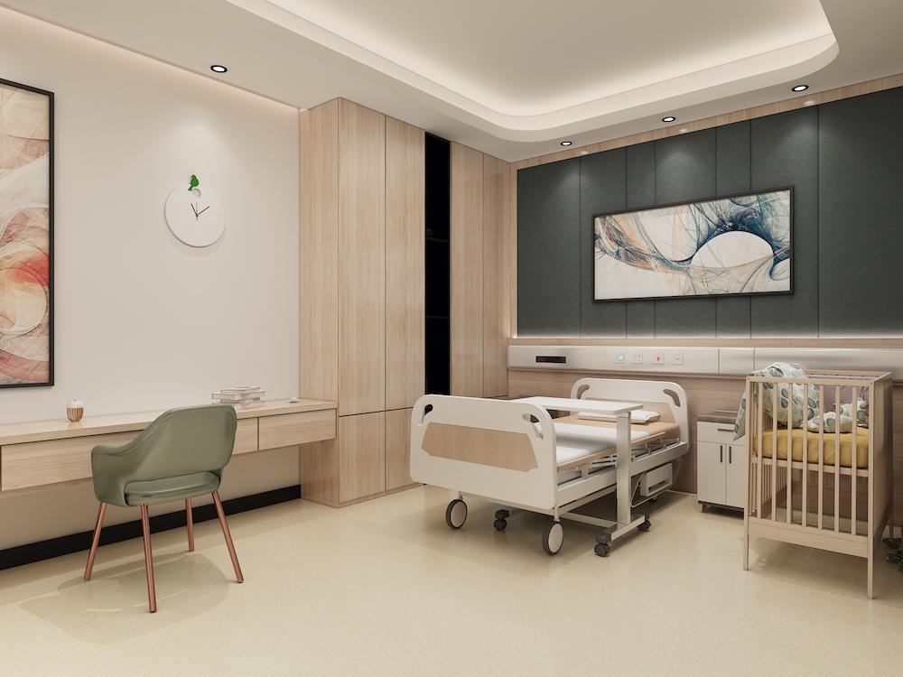 裝修案例保定慕子婦產醫院4