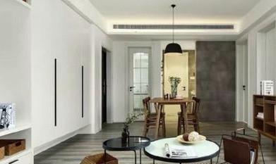 灰色地板裝修效果圖之現代裝修風格